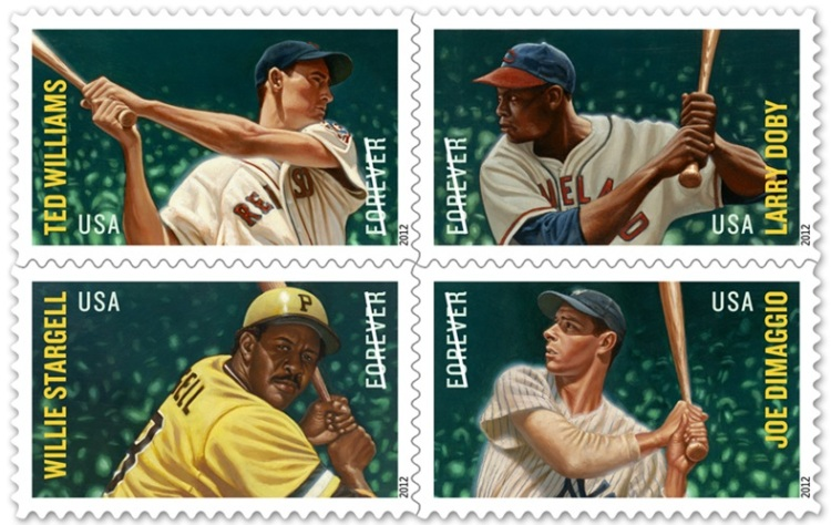 Baseball All-Star Stamps